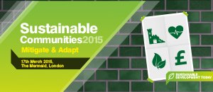Sustainable Communities 2015: Mitigate & Adapt